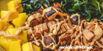 Makaron 9kcal w 100g z tofu i wakame
